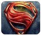 Superhero Superman Logo Cool Design Fashion Rectangle Mouse Pad 9.84 x 7.87 inch