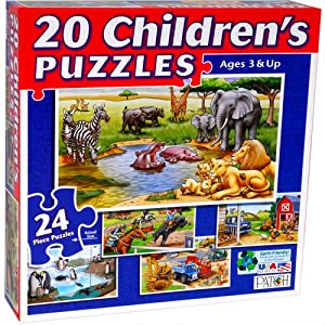 Patch 20 In 1 Puzzles (24 pc)