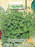 HERB - OREGANO - 0.25GM APPROX 3125 ITALIAN SEEDS - PICTORIAL PACKET