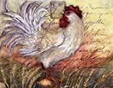Le Rooster II by Susan Winget Art Print, 14 x 11 inches