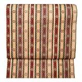 龍村美術織物 正絹 京袋帯 花文暈繝錦 仕立て上がり 西陣織