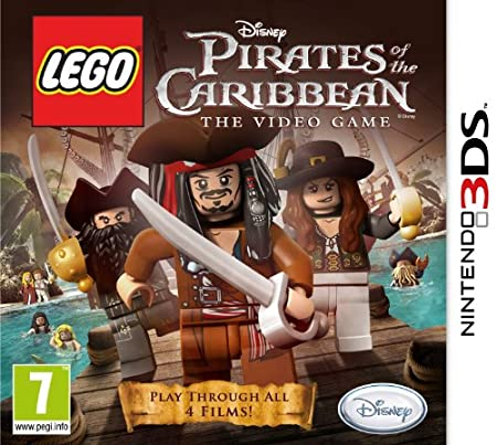 Lego Pirates of the Caribbean: The Video Game (Nintendo 3DS)