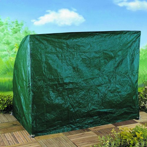 Gartenmobel Weib Lackiert :  Polyester Schutzhüllen Abdeckplane für Hollywoodschaukel 2sitzer