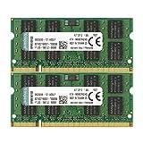 Kingston 4 GB DDR2 SDRAM Memory Modules 4 GB (2 x 2 GB) 667MHz DDR2667/PC25400 DDR2 SDRAM 200pin KTA-MB667K2/4G