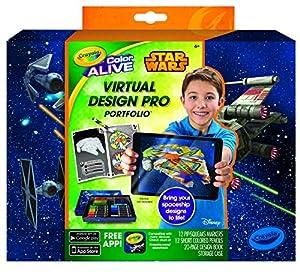 Crayola Color Alive Star Wars Virtual Design Pro Portfolio