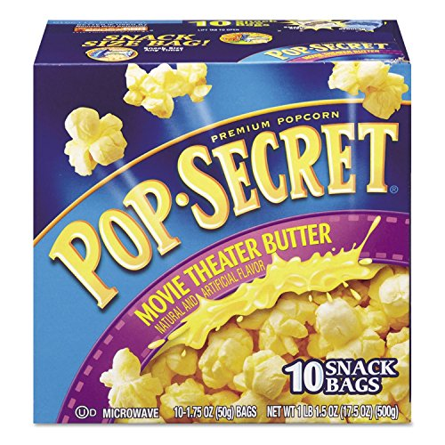 Pop Secret Microwave Popcorn, Movie Theatre Butter (1.75 Oz. Bags, 20 Pk.)