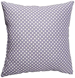 Sweet Potato Fiona Pillow Micro Dot, Purple/White
