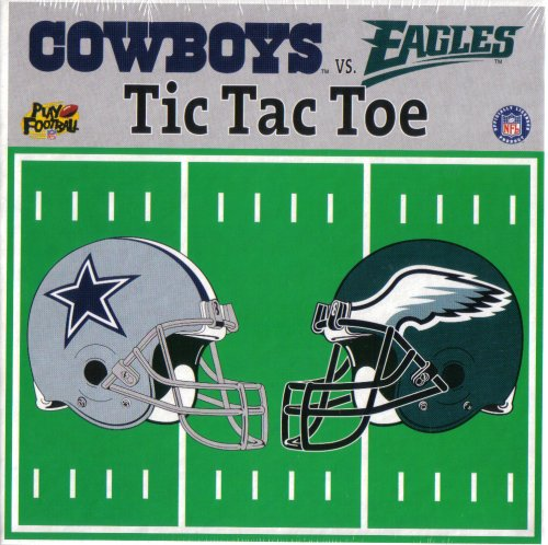 Dallas Cowboys vs. Philadelphia Eagles Tic Tac Toe at Amazon.com