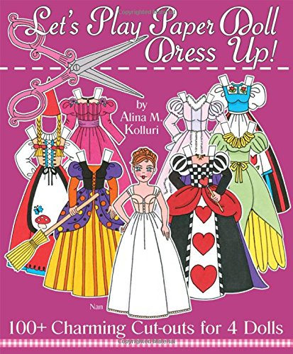Lets-Play-Paper-Doll-Dress-Up-100-Charming-Cut-Outs-for-4-Dolls