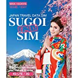 LTE対応【SUGOI SIM】JAPAN TRAVEL DATA SIM CARD 15Days (Nano)