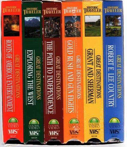 Historic Traveler Great Destinations Gift Set [VHS]