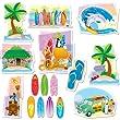 Carson Dellosa Surfing Bulletin Board Set (110153)
