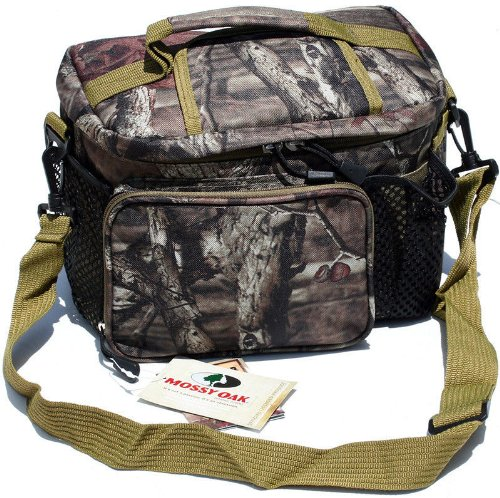 Mossy Oak Licensed 12 Can Insulated Lunch Bag Cooler Leak Proof & Weather Proof with Convenient Easy Access Top - 1
