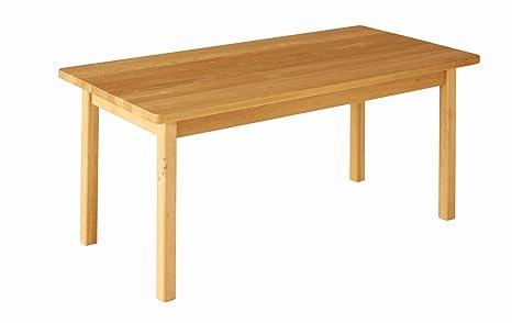 Robin tavolo rettangolare per la scuola materna, altezza 52 cm