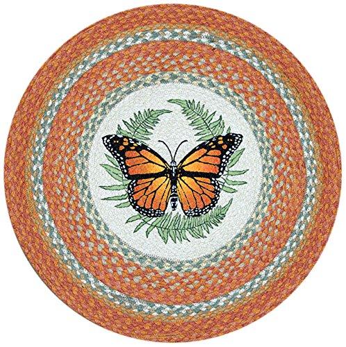 Earth Rugs RP-382 Monarch Printed Rug, 27