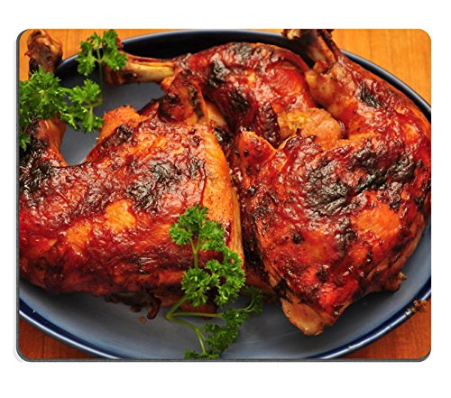 MSD Mousepad BBQ Chicken Natural Rubber Material Image 4524648586 (Bbq Island Book compare prices)