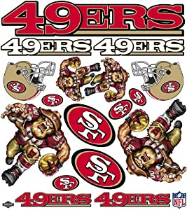 Buy NFL San Francisco 49ers Skinit Liquid Blue Car Decals (Large, 49- x 55- Inch) by Skinit