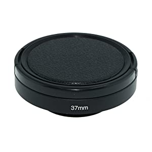 SIOTI Camera Wide Angle Metal Lens Hood with Cleaning Cloth and Lens Cap Compatible with Leica/Fuji/Nikon/Canon/Samsung Standard Thread Lens(37mm) (Color: Wide Angle, Tamaño: 37mm)