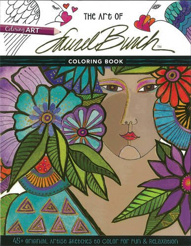 the-art-of-laurel-burch-45-original-artist-sketches-to-color-for-fun-relaxation