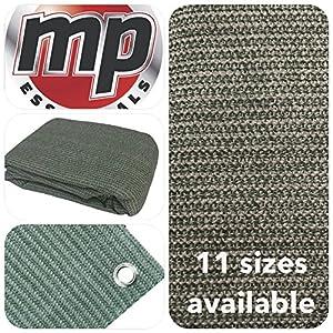 MP Essentials respirant et auvent et tente d'extérieur résistant aux intempéries Tapis de sol Tapis GREEN & GREY 2.5 x 2.5m