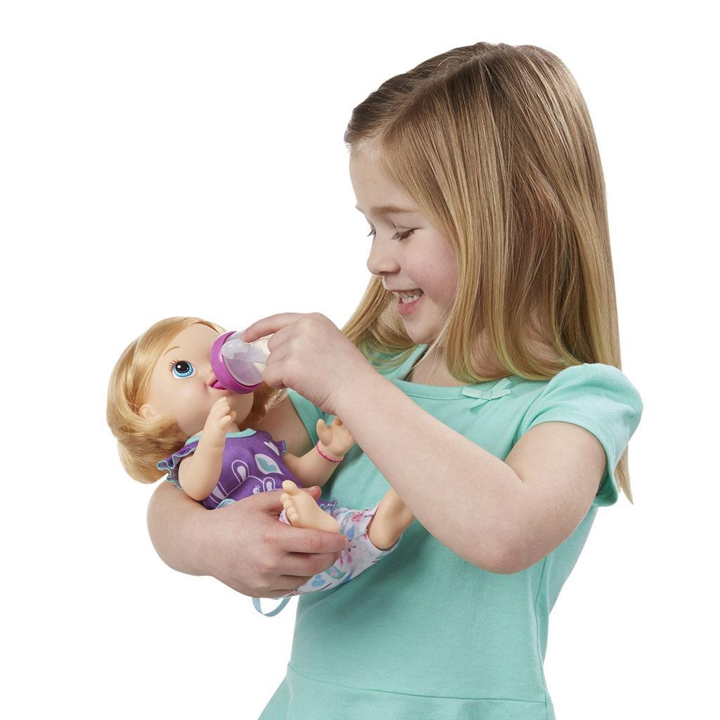 Amazon com baby alive brushy brushy baby doll blonde toys amp games