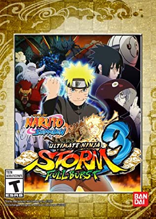 Naruto Storm 3: Full Burst [Online Game Code]