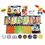 Educational DVD Collection Reading Program Early Learning Kit - Teach Alphabet Letters, Vowel Phonics & 200+ Sight Words - Little Champion Reader 9 DVD Set System