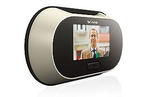 BRINNO Digital Peephole Viewer Türspion für 3557 mm, 6,4cm (2,5) TFTBildschirm, 1.3 Megapixel CMOS  BaumarktÜberprüfung und weitere Informationen