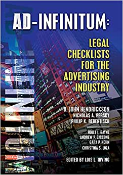 AD-INFINITUM: Legal Checklists For The Advertising Industry