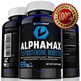 #1 Testosterone Booster Supplement for Men - Sculpt Lean Muscle & Supercharge Sex Drive - Includes FREE Ebook & Skype Session With Personal Trainer - Powerful Uncoated Pills Infused With Potent Premium Quality Ingredients for Maximum Support - 100% Power Max Money-Back Guarantee - Limited Time Sale Price - BUY 2 & Get FREE Shipping - Order Today!