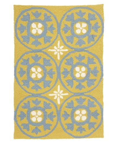 Momeni Veranda Indoor/Outdoor Rug  [Yellow]