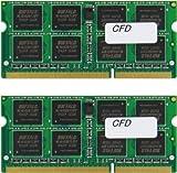 シー・エフ・デー販売 ノートPC用メモリ DDR3 SO-DIMM PC3-10600 CL9 4GB 2枚組 W3N1333F-4G/N 【フラストレーションフリーパッケージ(FFP)】