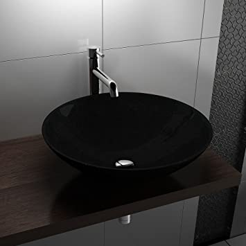 Granitwaschschale Badmobel Design Schwarzgranitwaschschale