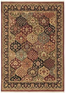 Shaw Living Qajar Rug, 1-Feet 10-Inch by 3-Feet, Multicolor by Shaw Living