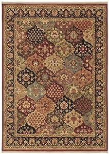 Shaw Living Qajar Rug, 7-Feet 9-Inch by 11-Feet 1-Inch, Multicolor by Shaw Living
