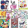 Greeting cards collection. Party Time 1 - 10 Children's Birthday cards. All new designs