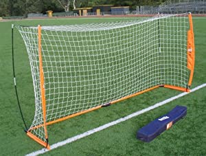 Bownet Portable 6 x 12 Ft Soccer Goal w Frame by The Bownet