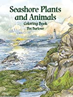 Seashore Plants and Animals Coloring Book