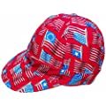 """Mutual Industries 7355-0-0 Kromer Wave Flag Style Cap, Cotton, Length 5"""", Width 6"""""""