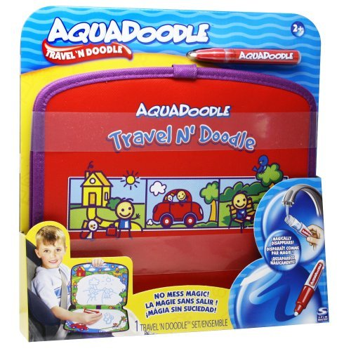 Reusable Doodle Tote Comes With Fine Tip Water Pen And Is Great For On The Go! - Aquadoodle Travel Doodle