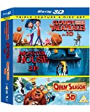 Cloudy with a Chance of Meatballs 3D Blu Ray Triple Pack