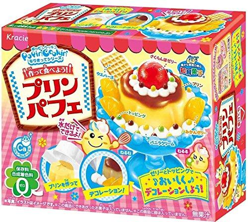 Kracie Popin' Cookin' kit Pudding Flan Parfait ( DIY candy )