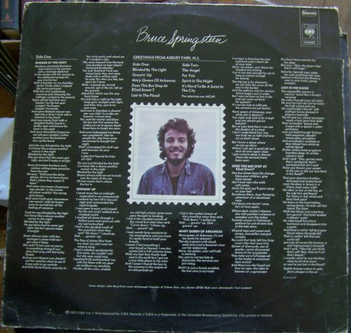 Bruce Springsteen & The E Street Band - Greetings From Asbury Park, N.J. - Zortam Music