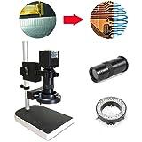 TFCFL 16MP 1080P 10X -100X HDMI Digital Industry Microscope Set Camera Video Zoom Lens
