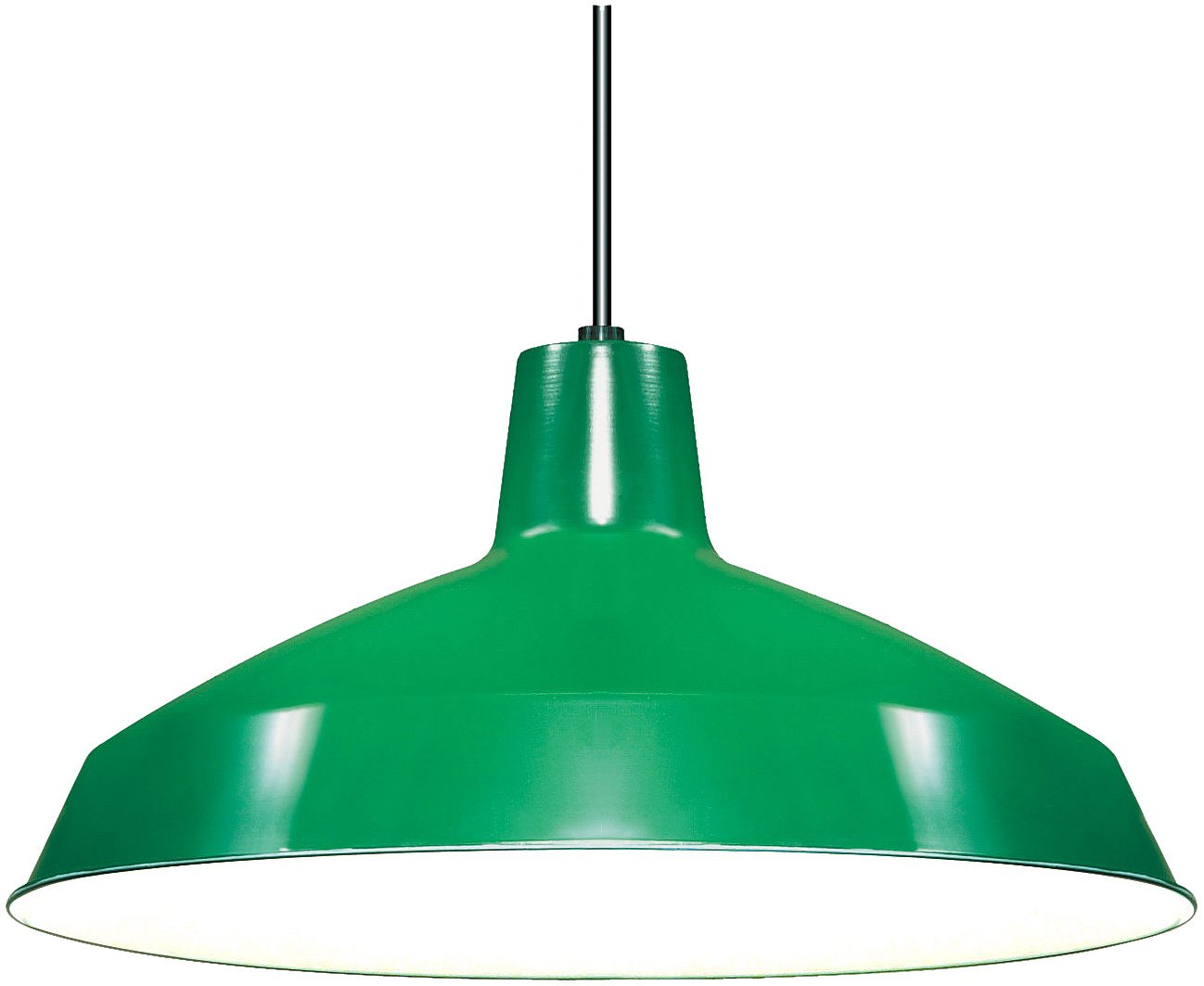 Nuvo Lighting SF76/660 Warehouse Shade, Green 0