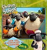 Shaun das Schaf 2014 Tisch- und Postkartenkalender