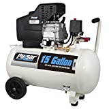Pulsar PCE6150 Horizontal Electrical Air Compressor, 15-Gallon (Tamaño: 15-Gallon Horizontal)