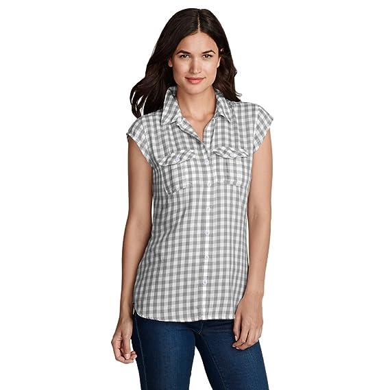 Eddie Bauer Women's Boyfriend Short-Sleeve Shirt