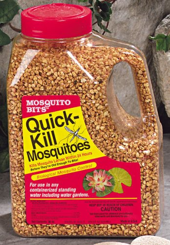 Pest repellents mosquito dunks 117 6 32 ounce mosquito bits for Mosquito dunks amazon