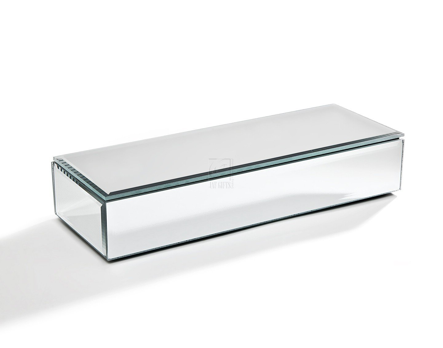Oblong mirrored jewelry box ebay for Mirror jewellery box